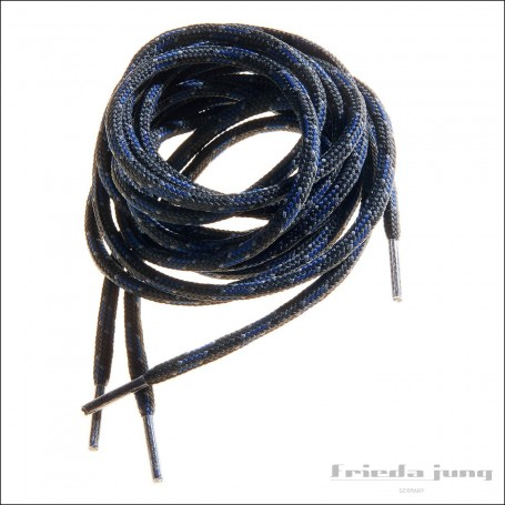 Shoelaces for hiking boots, trekking, fishing, outdoor blue