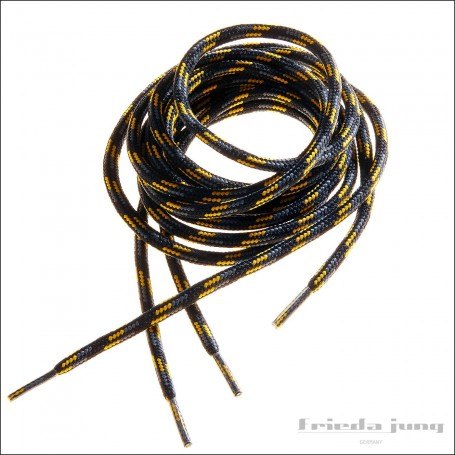 Shoelaces for hiking boots, trekking, fishing, outdoor yellow