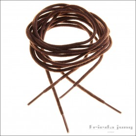 Round shoelaces 2.5mm in Dark Brown