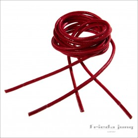Round shoelaces in Red 2.5mm. Shoelaces & shoestrings