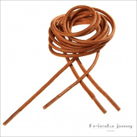Round shoelaces in Light Brown 2.5mm. Shoelaces & shoestrings