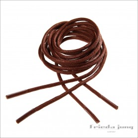 Round shoelaces in Brown 2.5mm. Shoelaces & shoestrings