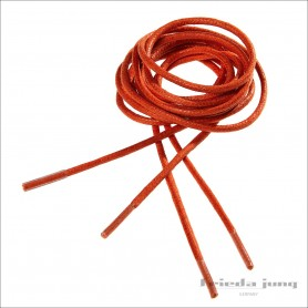 Round shoelaces in Orange 2.5mm. Shoelaces & shoestrings
