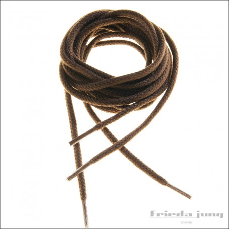 Round cord laces in Caramel by