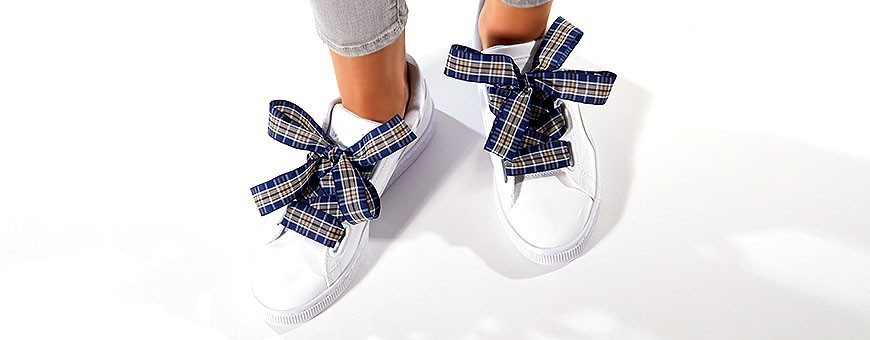 Buy Tartan/Plaid Laces from Frieda Jung online
