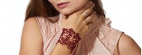Buy Ladies embroidered Bracelets from Frieda Jung online